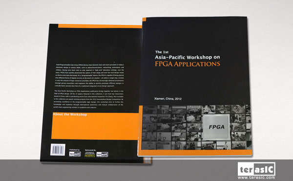 友晶科技出版第一本國際英文期刊『The 1st Asia-Pacific Workshop on FPGA Applications』