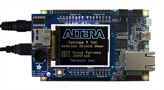 Terasic De Main Boards De0 Nano Soc Kit Atlas Soc Kit