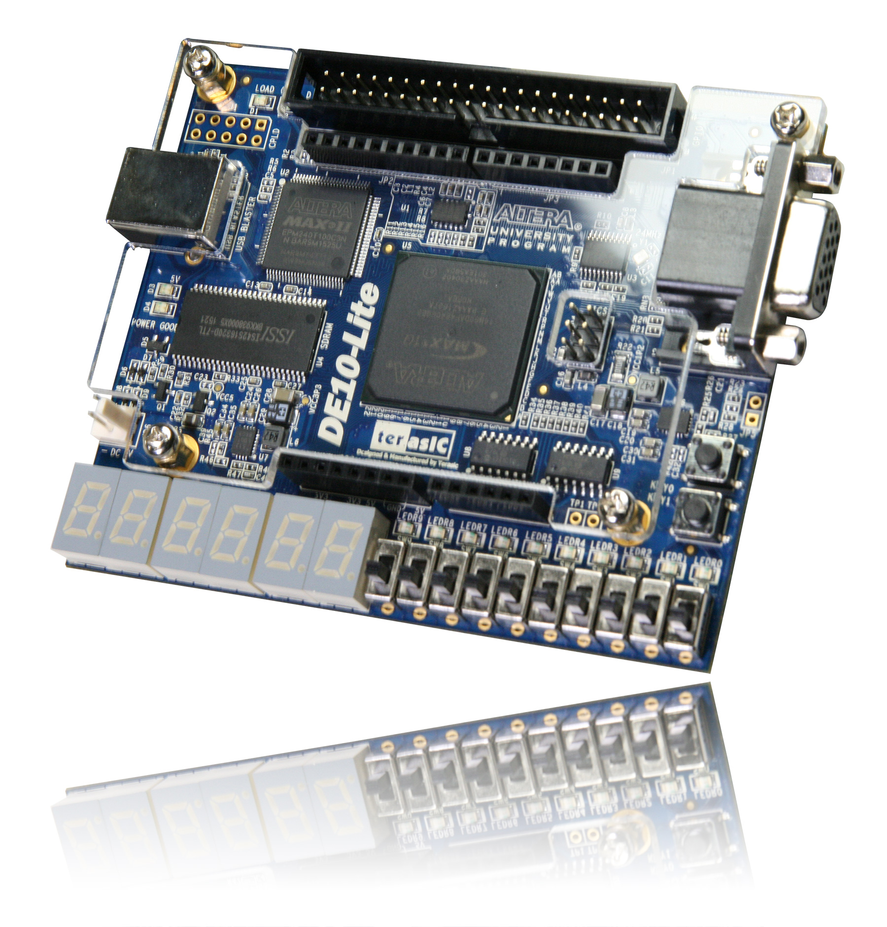 Terasic De Main Boards Max De10 Lite Board Buy Integrated Electronics Analog And Digital Circuit English 2nd The Utilizes Maximum Capacity 10 Fpga Which Has Around 50k Logic Elementsles On Die To Converter Adc