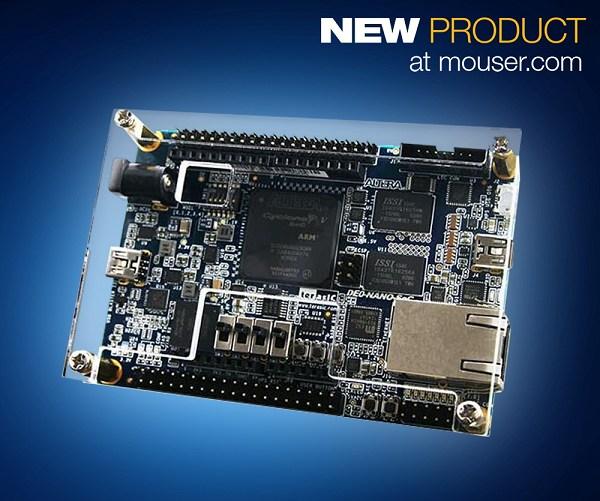 Mouser即日起開始供應友晶科技的Atlas-SoC與DE0-Nano-SoC開發套件。