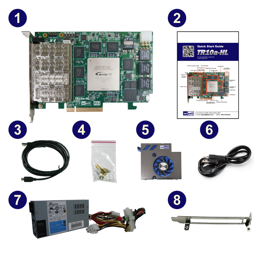Terasic - All FPGA Main Boards - Arria 10 - TR10a-HL Arria ...