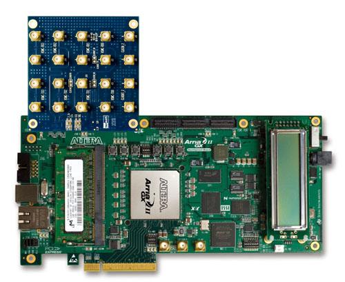 Terasic 子板 介面轉換 Xts Hsmc 子板