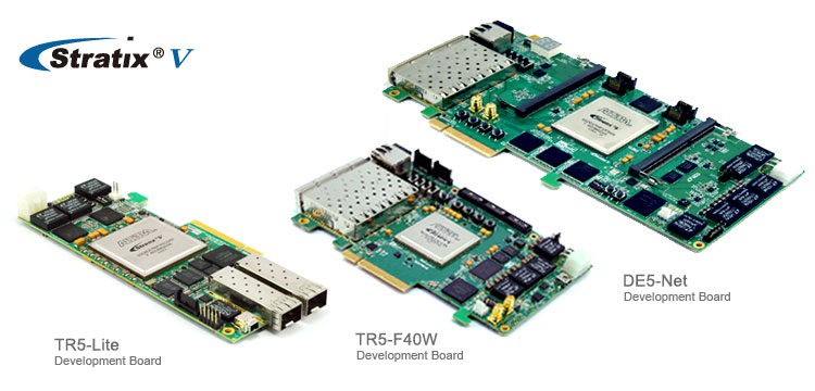 Terasic Stratix V FPGA Development Boards