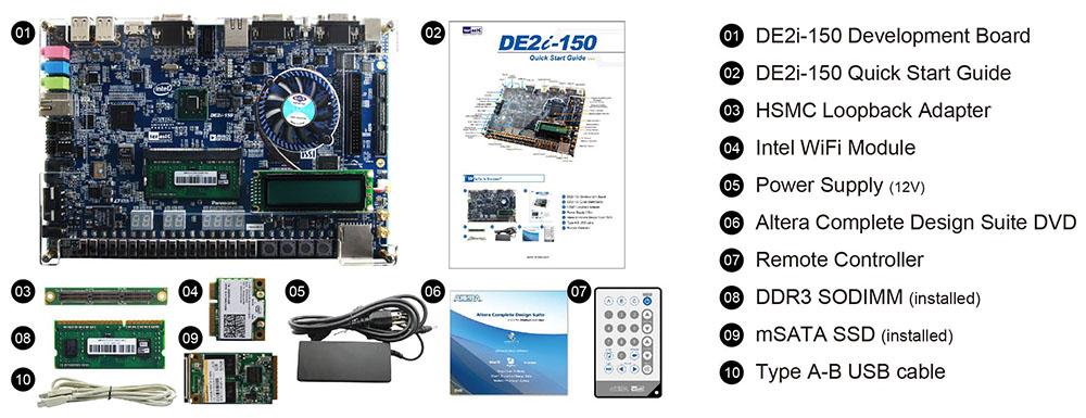 Terasic - Terasic News Labs - DE2i-150 FPGA Development Kit