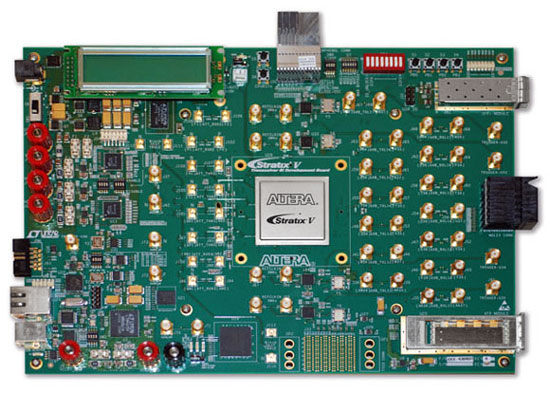 Altera® Stratix® V GX Transceiver Signal Integrity (SI) Development Kit