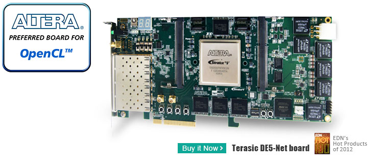 Terasic Terasic News Labs News Opencl For Terasic