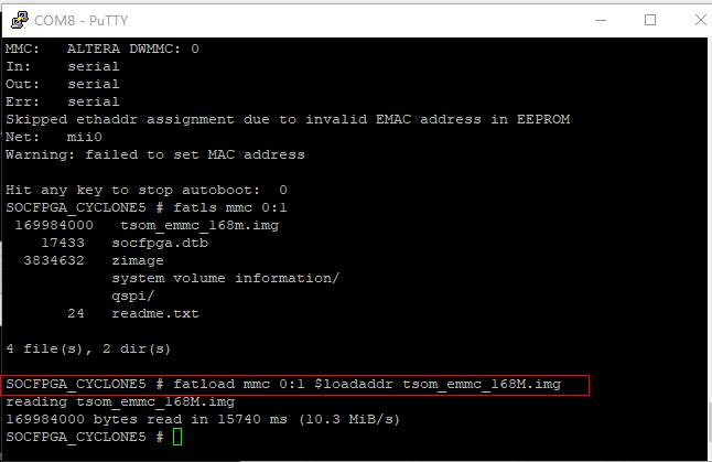 TSoM eMMC Programming Guide - Terasic Wiki